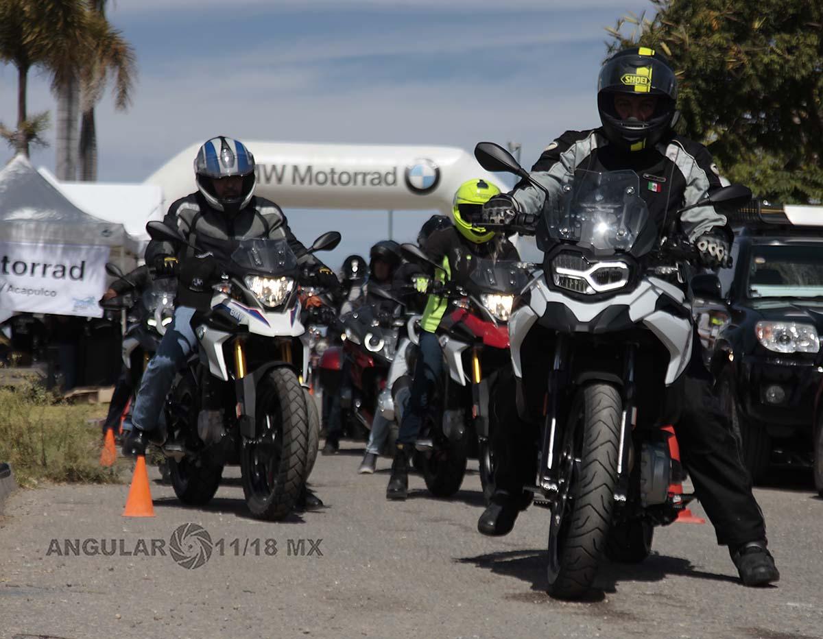 BMW Motorrad 2019 pruebas de manejo jardines de México