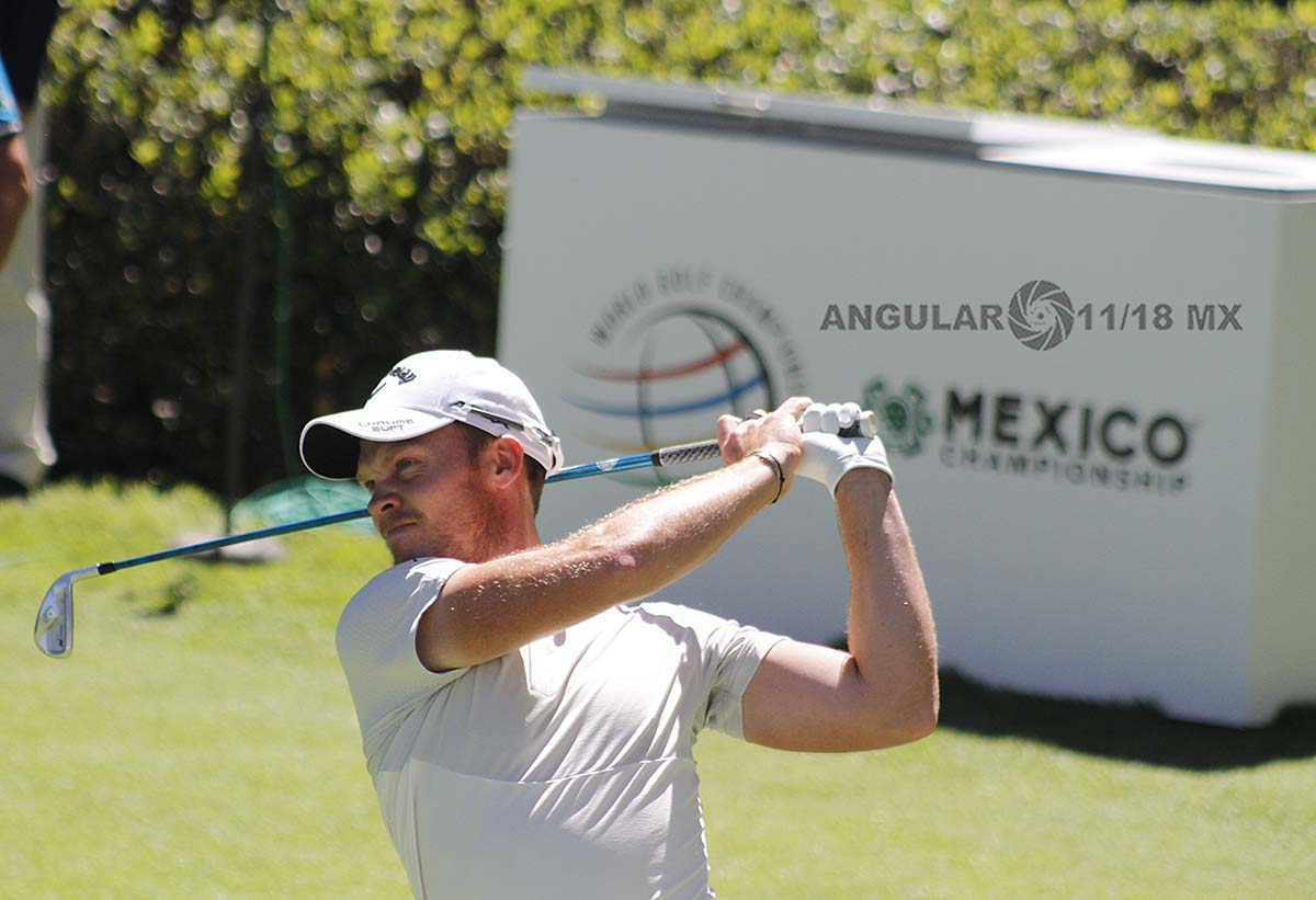 Danny Willet World Golf Championships México 2019