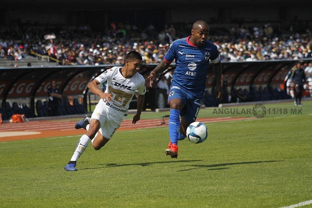 Dorlan Pavón autor del único gol del Monterrey en la Jornada 5 del torneo de la liga mx clausura 2019