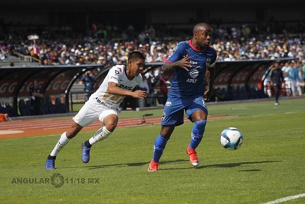 Dorlan Pavón autor del único gol del Monterrey frente a Pumas en la Jornada 5 del torneo de la liga mx clausura 2019