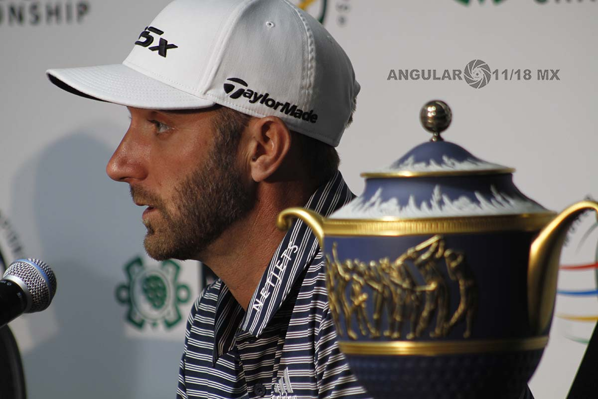 Dustin Johnson, Campeón del World Golf Championships México 2019 en conferencia de prensa
