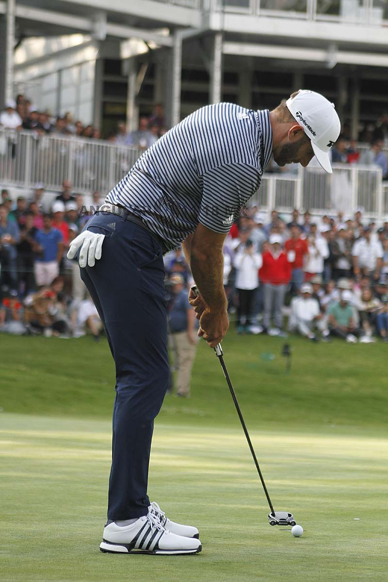Dustin Johnson Campeón del World Golf Championships México 2019, hoyo 17 Club de Golf Chapultepec