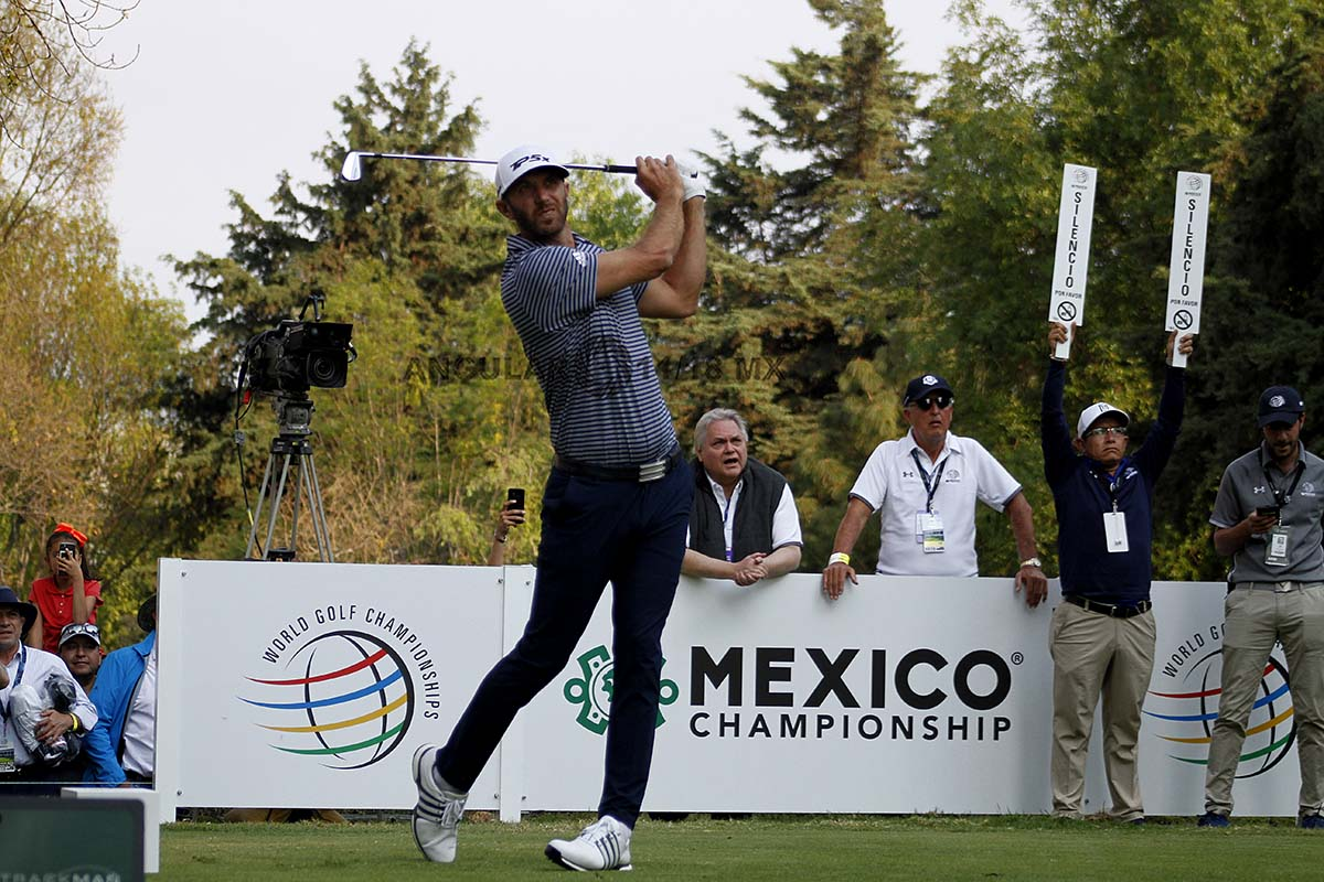 Dustin Johnson Campeón del World Golf Championships México 2019 hoyo 18, Club de Golf Chapultepec