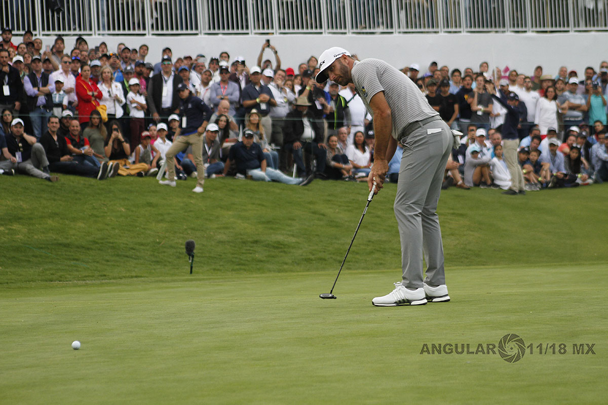 Dustin Johnson ganador de la segunda ronda del World Golf Championships, México 2019