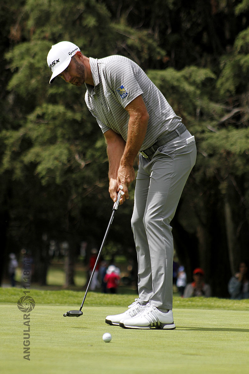 Dustin Johnson, ganador de la segunda ronda del World Golf Championships México 2019