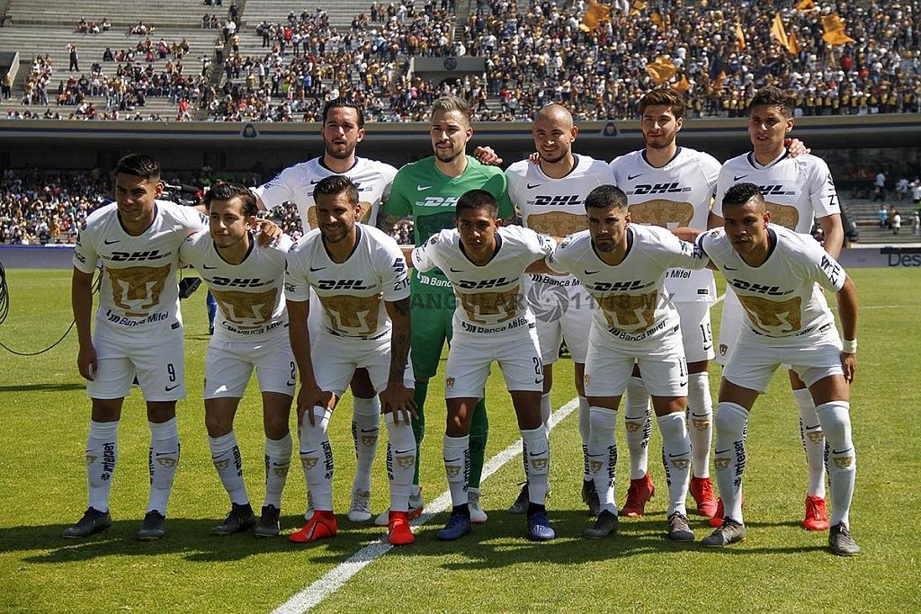 Equipo Titular de Pumas en la Jornada 5 de la Liga MX Clausura 2019