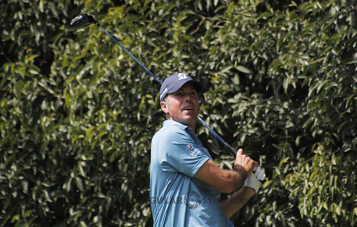 Matt Kuchar de Estados Unidos, en la tercera ronda del World Golf Championships, México 2019
