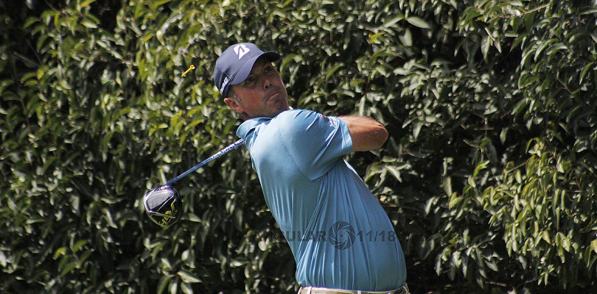 Matt Kuchar de Estados Unidos, en la tercera ronda del World Golf Championships México 2019