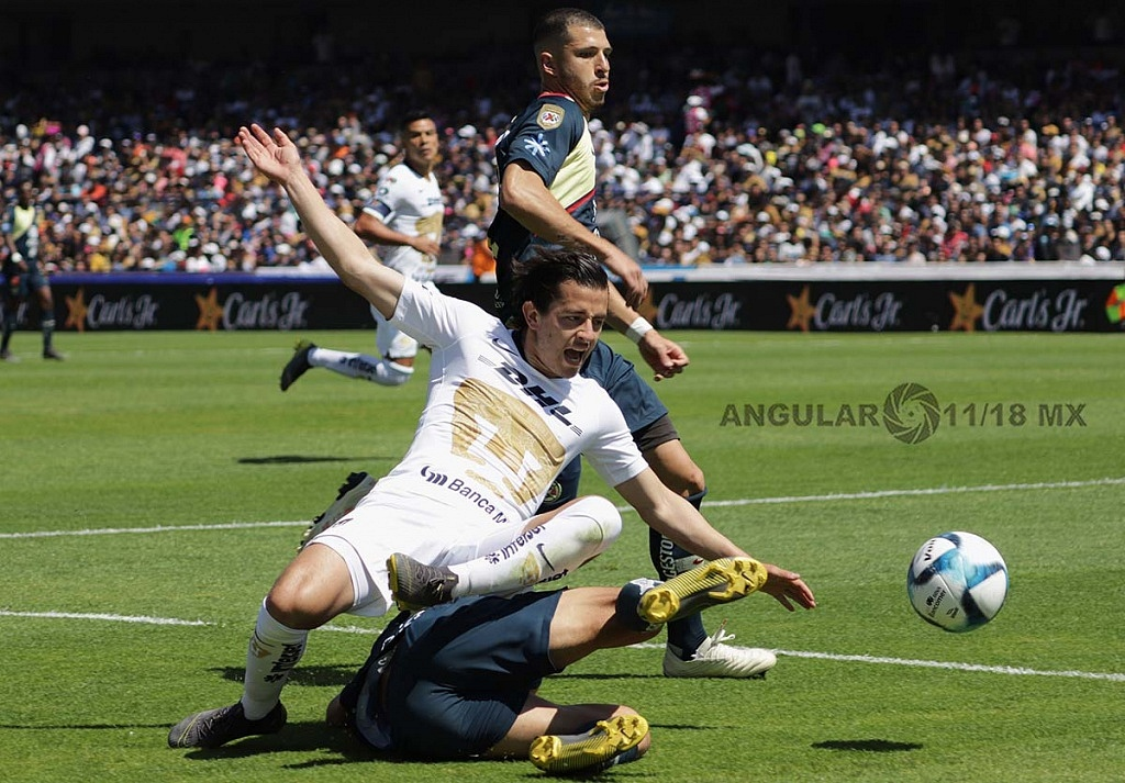 Pumas derrota al América en la jornada 7 del Clausura 2019