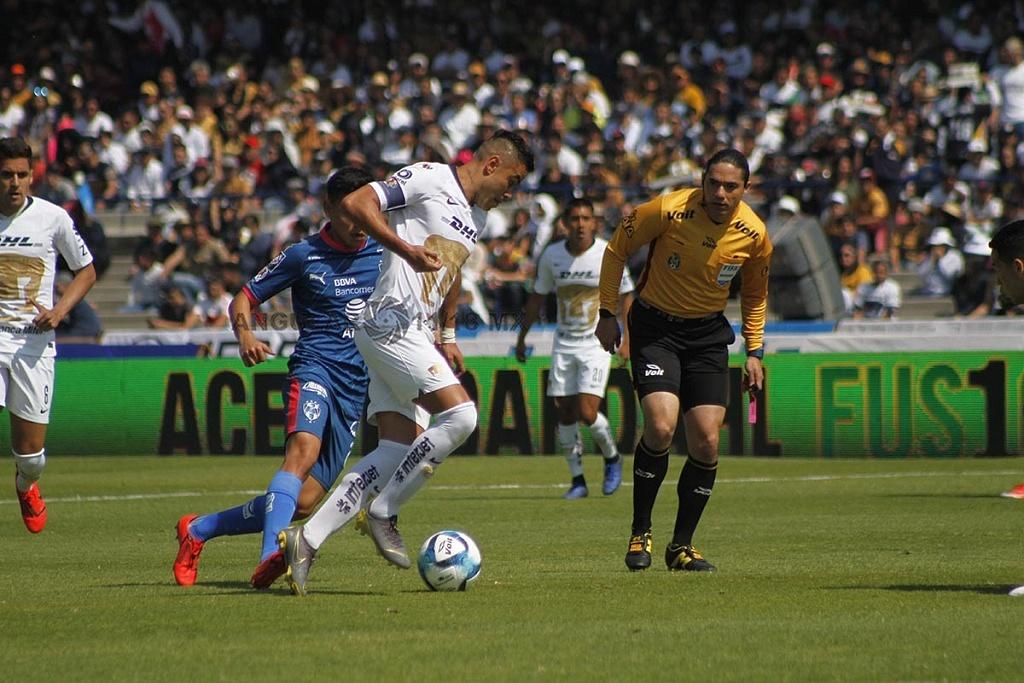 Pumas y Monterrey empataron 1-1 en la jornada 5 del clausura 2019