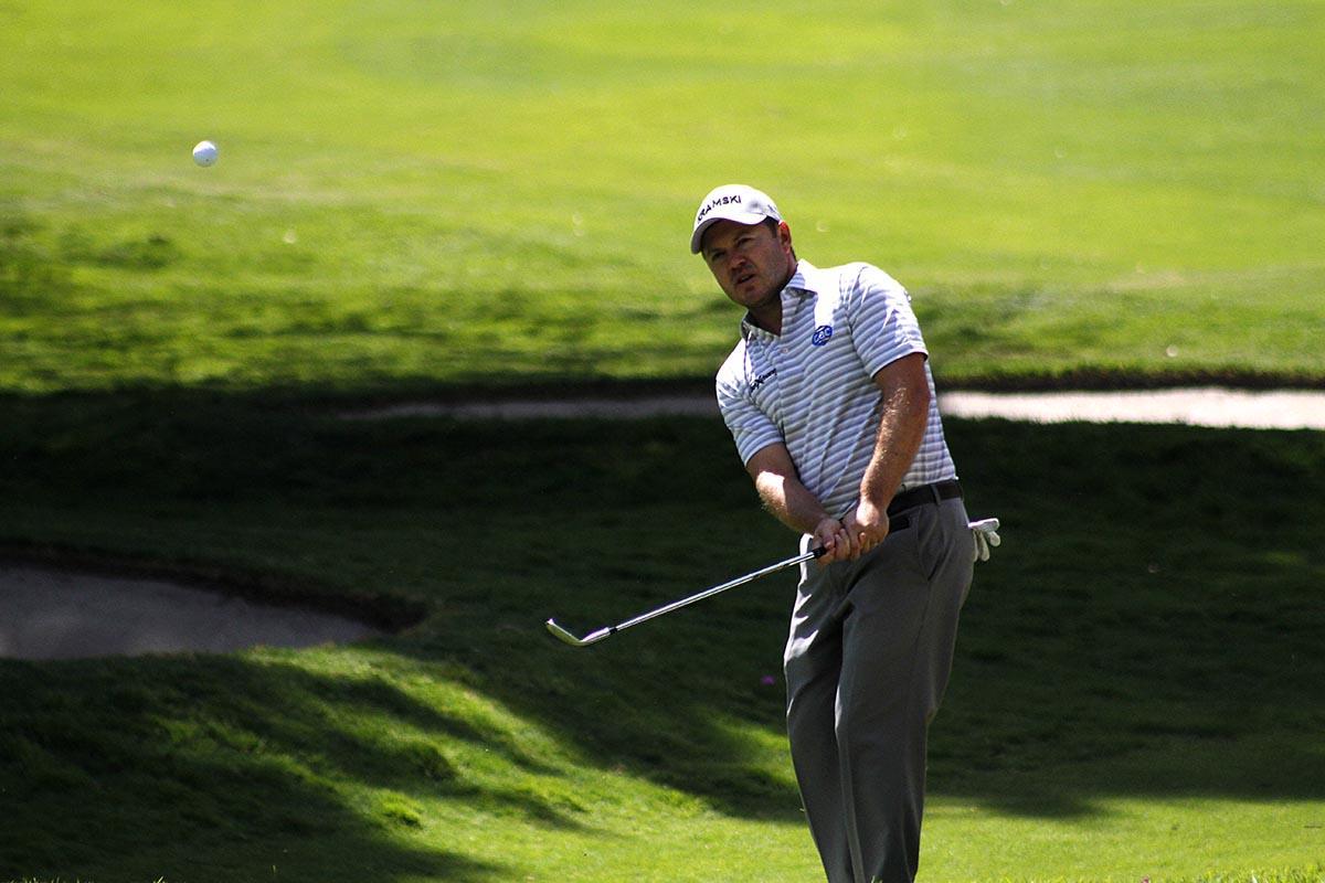 Richard Sterne en la tercera ronda del World Golf Championships México 2019