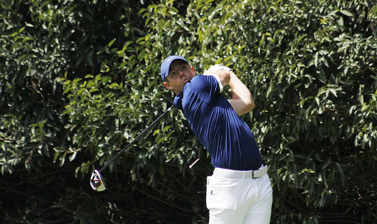 Rory Mcllroy de Irlanda del Norte, en la tercera ronda del World Golf Championships México 2019,