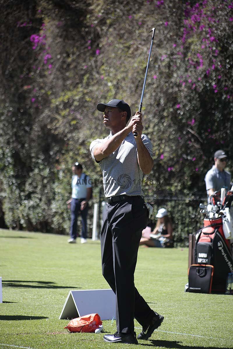 Tiger Woods, en el World Golf Championships México