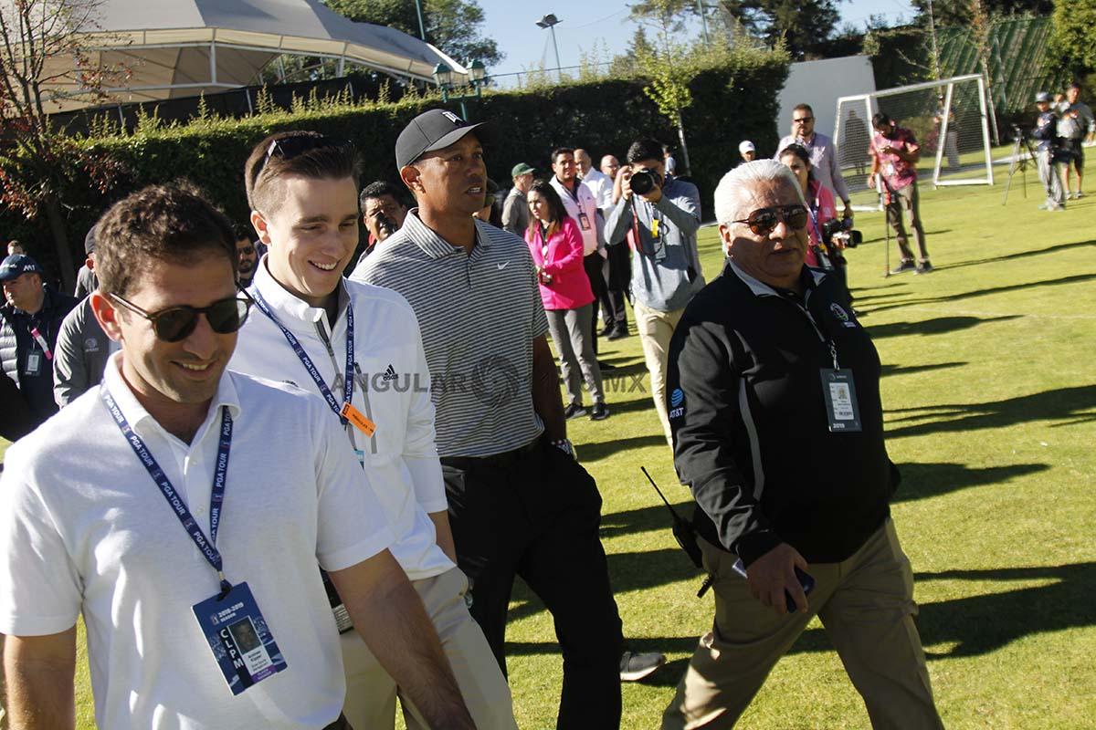 Tiger Woods en el World Golf Championships México