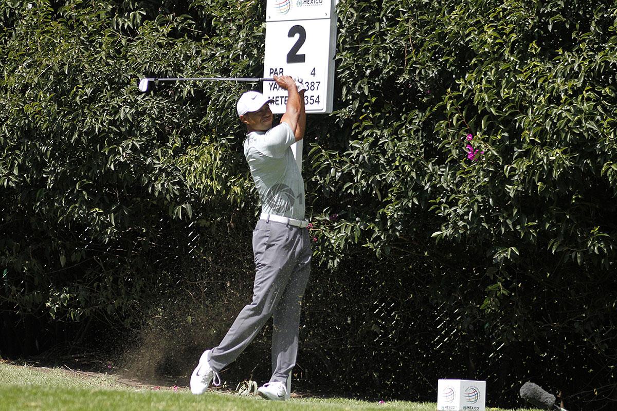 Tiger Woods, en la tercera ronda del World Golf Championships México 2019