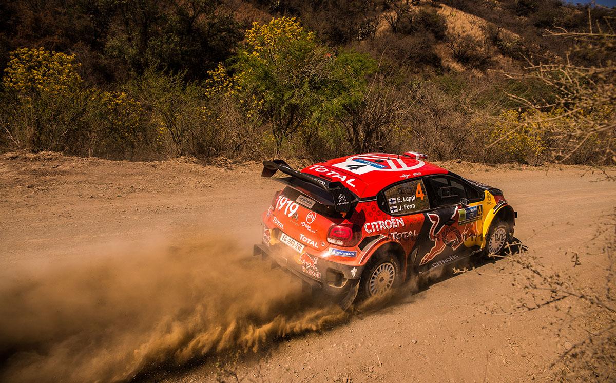 16° Rally Guanajuato México auto numero 4 piloto E,Lappi y su copiloto J, Ferm