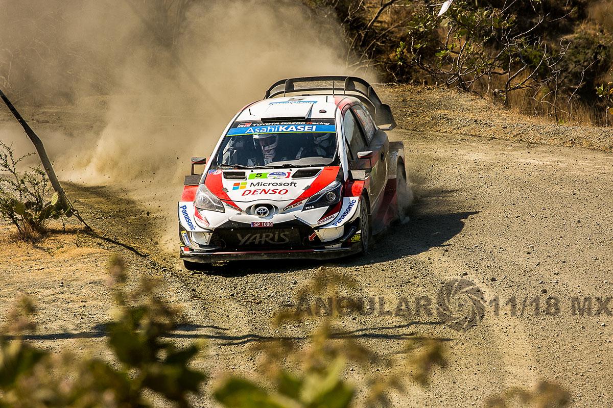 16° Rally Guanajuato México, auto numero 5 piloto K, Meeke y su copiloto S Marshall