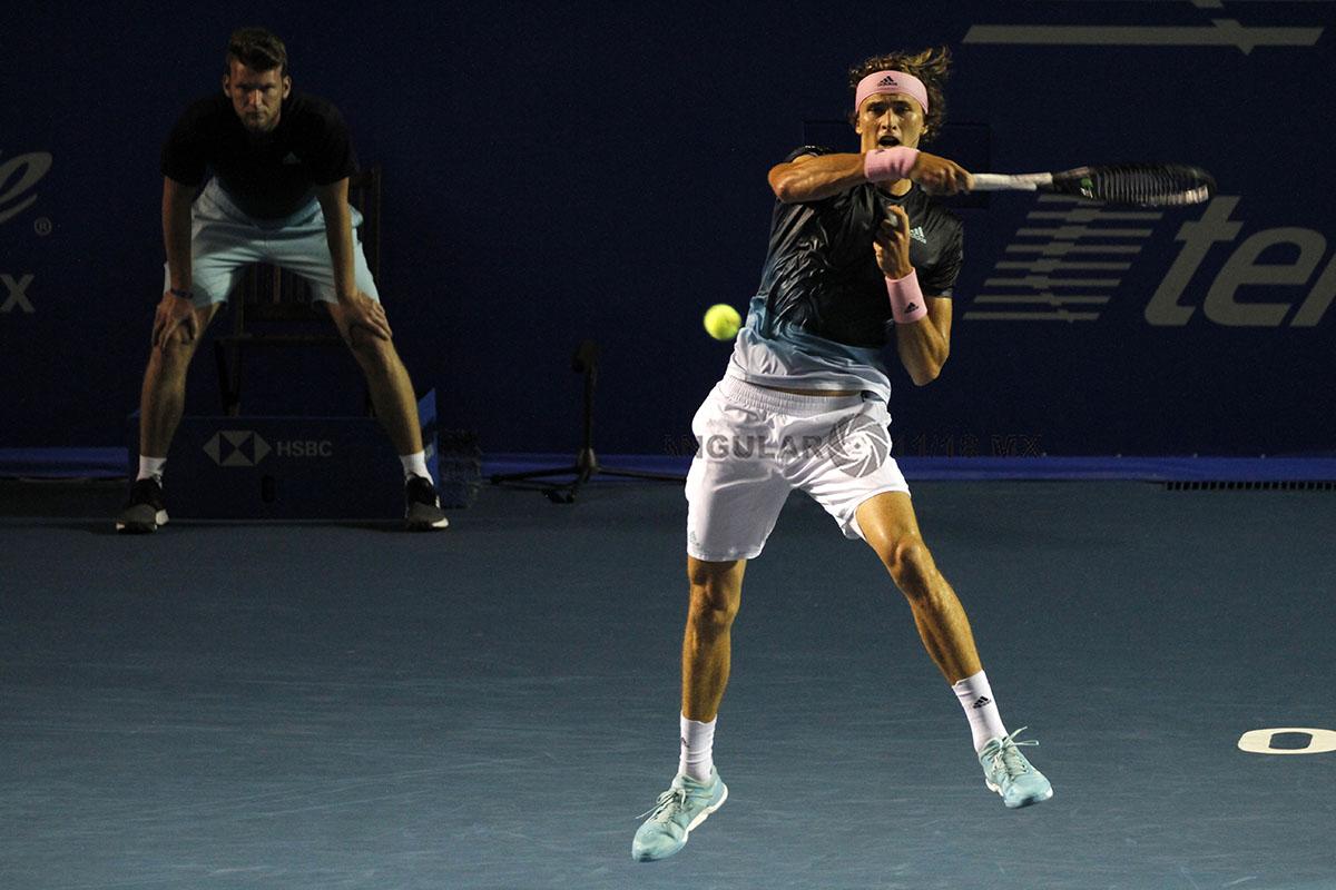 Alexander Zverev en la final del AMT (semifinales)