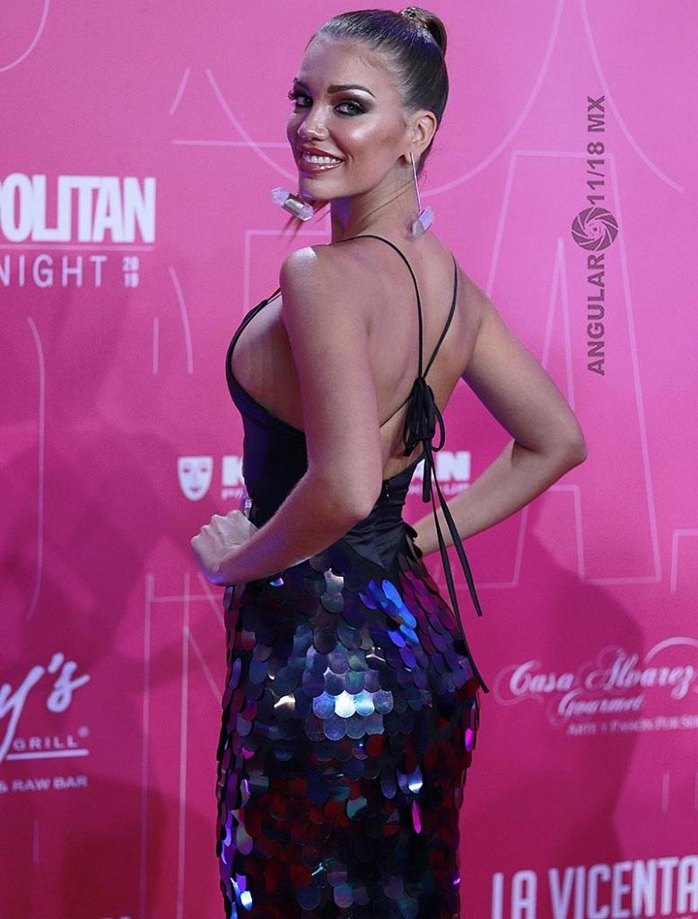 Alfombra Roja Cosmopolitan Fashion Night Rosio Robles