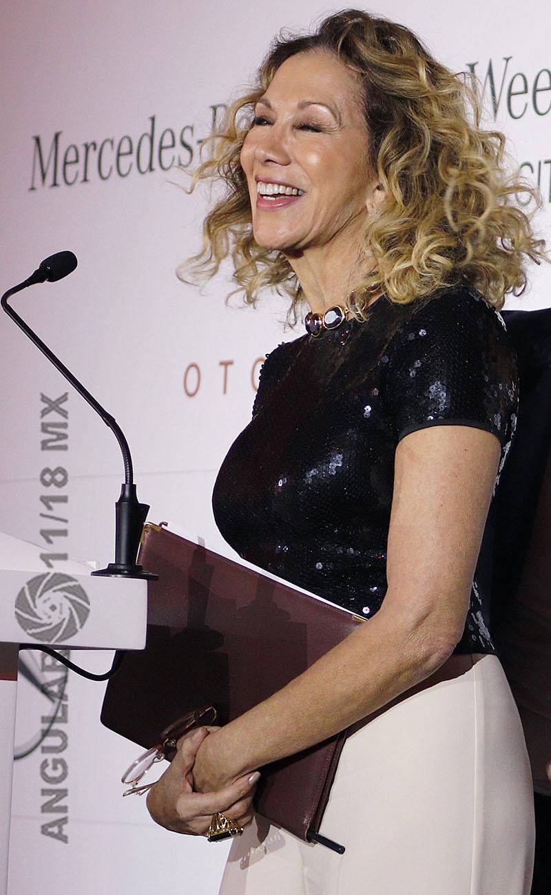 Beatriz Calles, directora general del Mercedes-Benz Fashion Week México