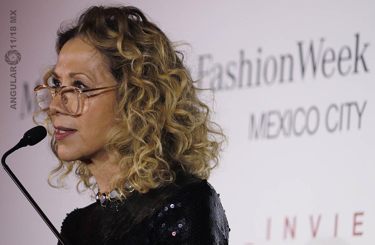 Beatriz Calles directora general del Mercedes-Benz Fashion Week México