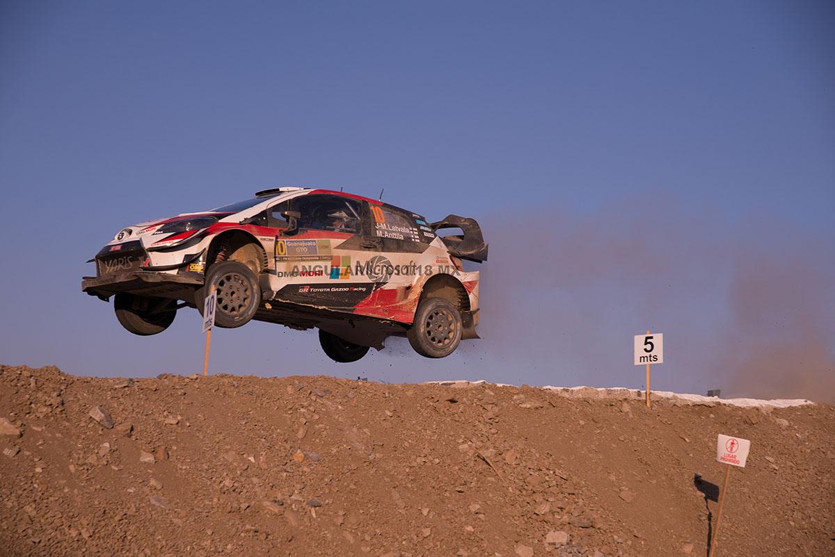 Campeonato Mundial de Rally (WRC) 16° edición del Rally Guanajuato México, ultima etapa,