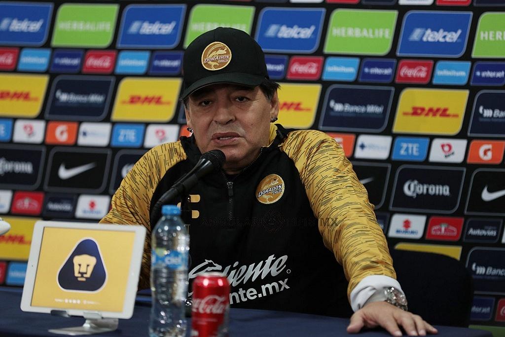 Diego Armando Maradona, Director Técnico del Equipo Dorados de Sinaloa