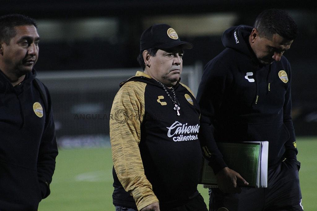 Diego Armando Maradona Director Técnico del Equipo Dorados de Sinaloa