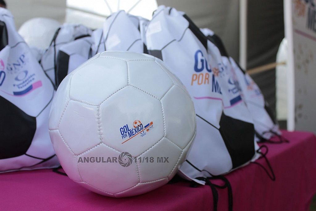 Inicio Campaña, Gol por México, Gol para las Mujeres,