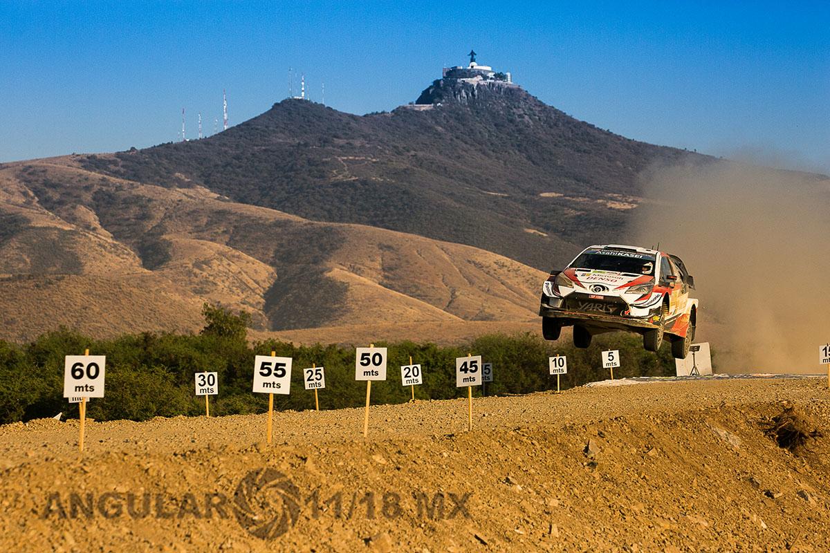 K, Meeke - S, Marshall (Toyota Yaris WRC) Campeonato Mundial de Rally (WRC) 16° edición del Rally Guanajuato México