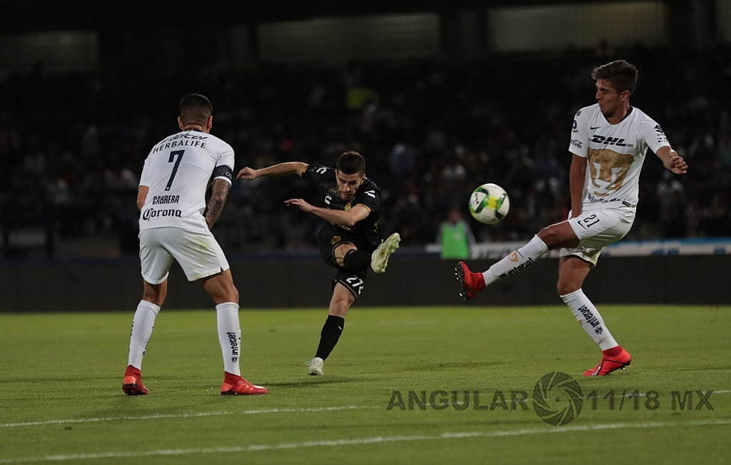 Los Pumas avanzaron a las semifinales de la Copa MX, 2019 al derrotar a los Dorados de Sinaloa