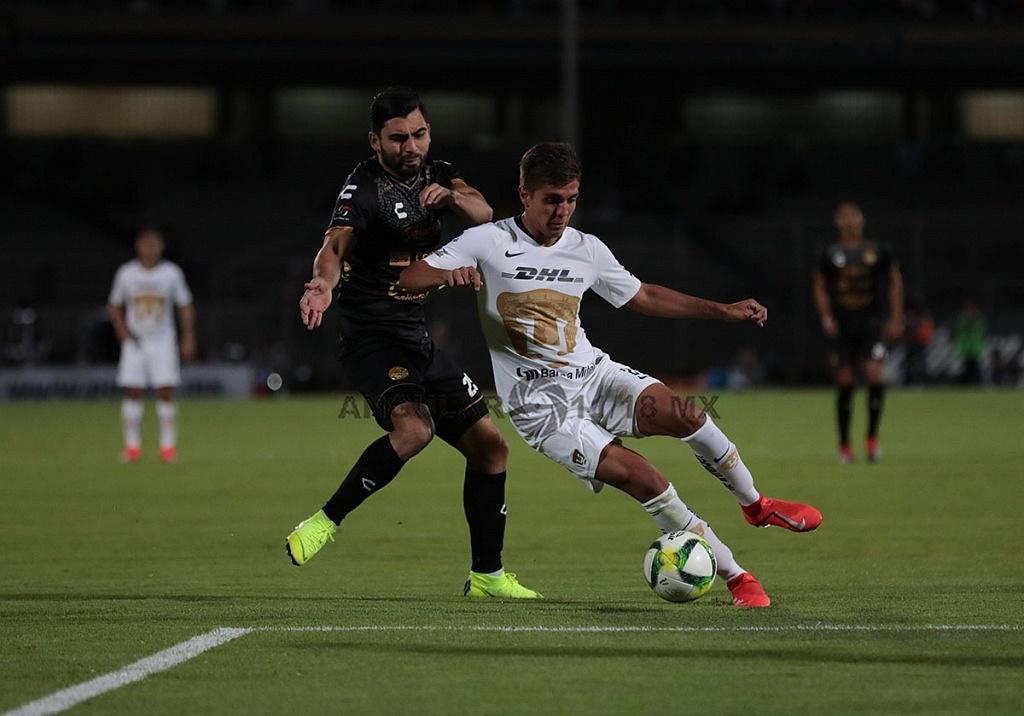 Los Pumas avanzaron a las semifinales de la Copa MX, 2019, al derrotar a los Dorados de Sinaloa