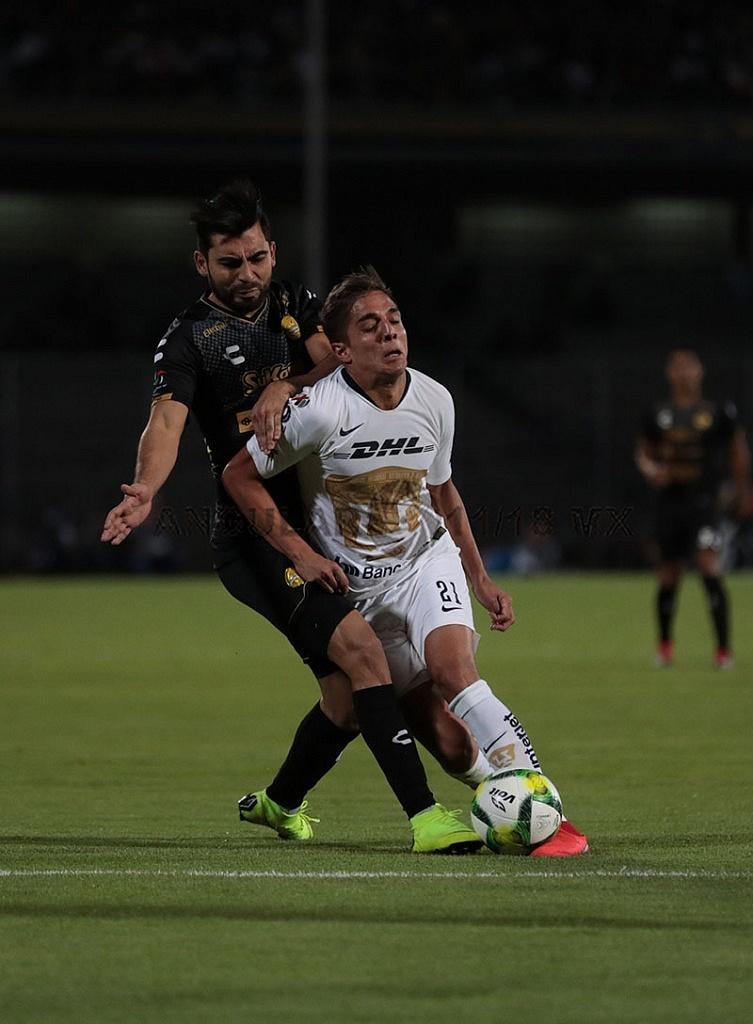 Los Pumas avanzaron a las semifinales, de la Copa MX, 2019 al derrotar a los Dorados de Sinaloa