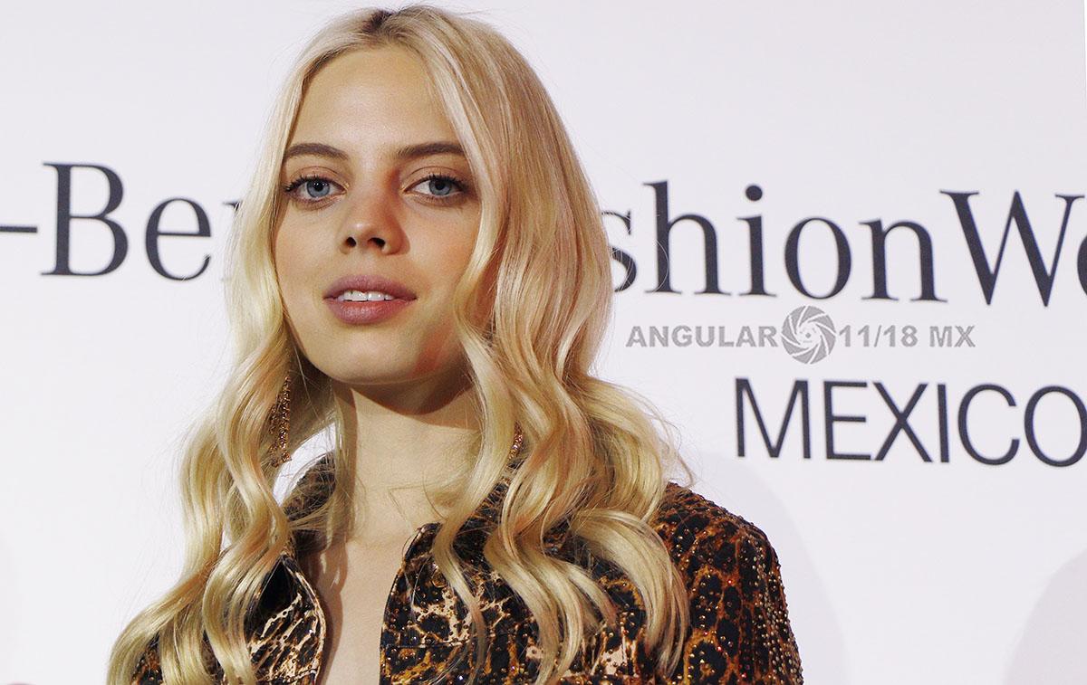 Mariana Zaragoza Top Model Mexicana, imagen del MBFW 2019