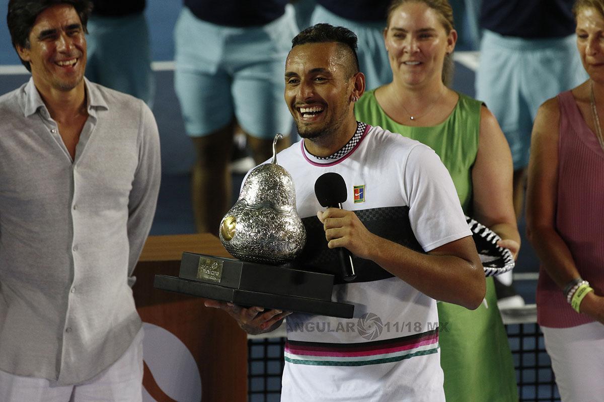 Nick Kyrgios campeon del AMT acapulco