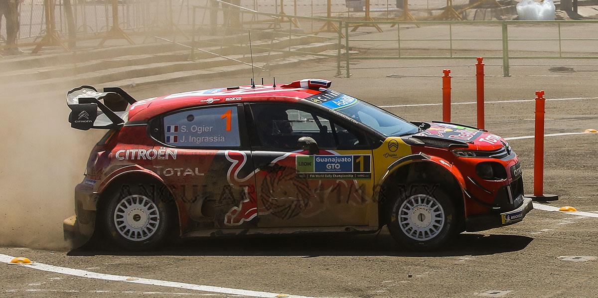 Sebastien Ogier (Citroën) Tercera Fecha del Campeonato Mundial de Rally (WRC) 2019