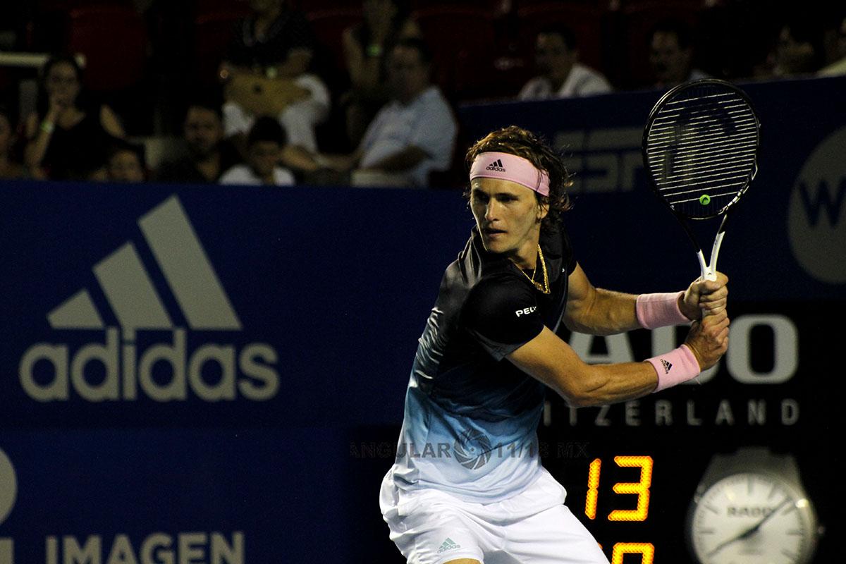 Zverev (Alemania), continúan con paso firme en el AMT 2019, cuartos de final