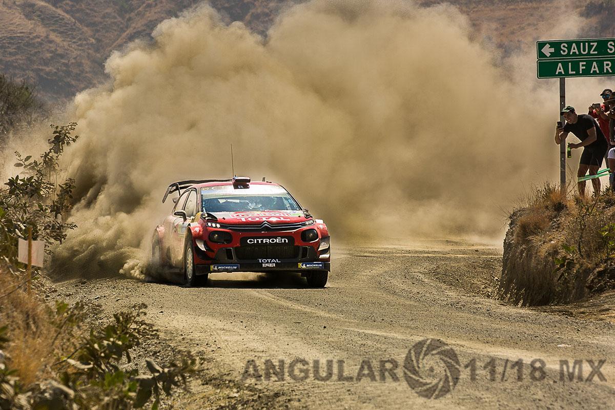 tercera fecha del mundial de rallys (16° Rally Guanajuato, México)