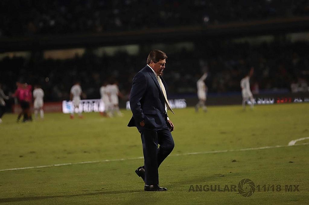 Director Técnico del América Miguel Herrera en la semifinal del apertura 2018,